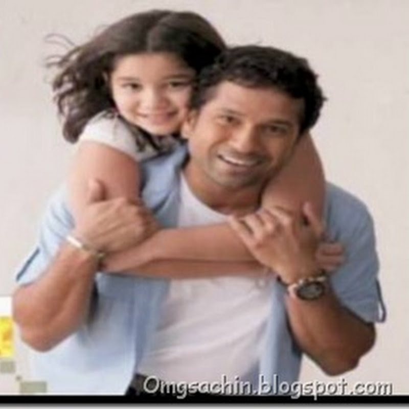 Photos : Sachin Tendulkar With His Daughter Sara Tendulkar