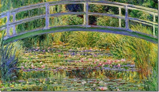 monet japanese-bridge