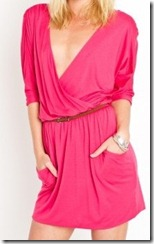 Nasty Gal Draped Across Dress StyleScrybeSays