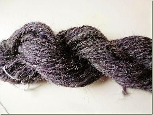 Alpaca yarn sample