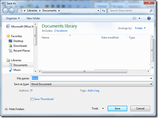 Steps to Save Documents as PDF File and as XPS File