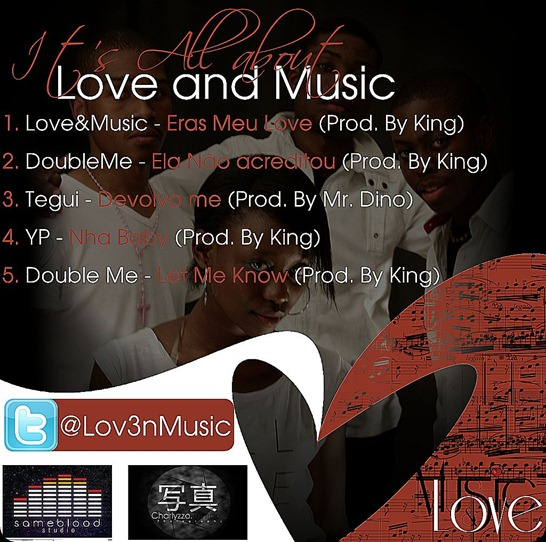 Love&Music MIXTAPE capa de Traz