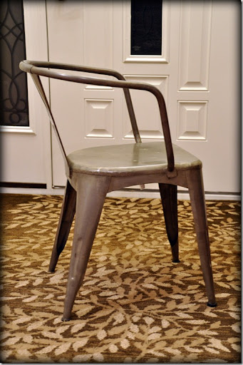 I Had Previously Mentioned My Obsession With Farmhouse Tables And Metal  Chairs. I Had A Particularly Interesting Day At Work. I Was Drooling Over  Chairs ...