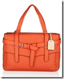 Orange Satchel Bag