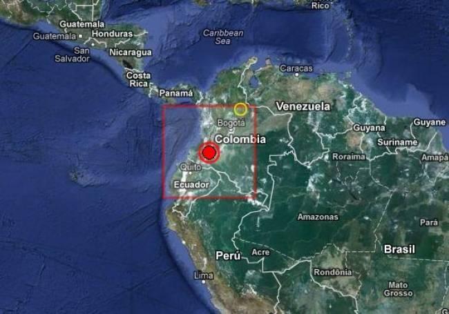 Ισχυρός σεισμός στην Κολομβία