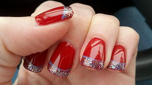 Red-Christmas-Nail-Art