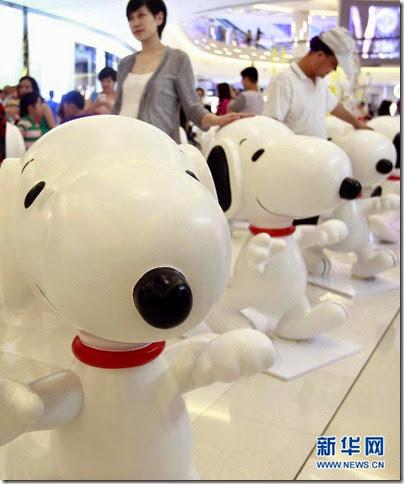 Snoopy Peanuts 65th Anniversary Shanghai Exhibition 史努比·花生漫畫65周年變.變.變.藝術展 02