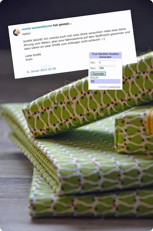 Gewinn Paket 1 vronis wunschblume
