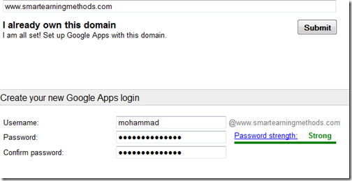 Create Free Email address Using Your Website Domain with Google Apps