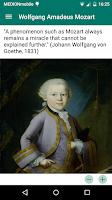Screenshot of Mozart Geburtshaus TextGuide