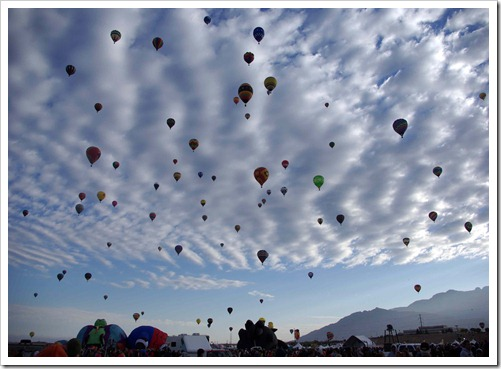 Albuquerque Balloon Festival 2012