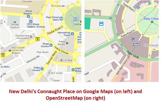 google-vs-openstreet