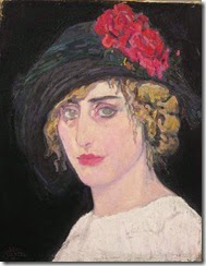 Leo-Gestel-xx-Portrait-of-a-Woman-xx-Private-Collection