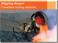 Canadian mining taxation