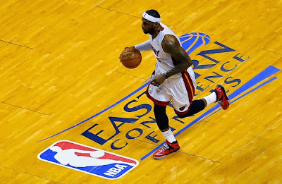 lebron james nba 140530 mia vs ind 41 game 6 Heat Eliminate Pacers, Advance to NBA Finals for 4th Straight Year