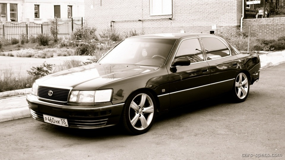 1990 lexus ls 400 sedan specifications pictures prices. Black Bedroom Furniture Sets. Home Design Ideas