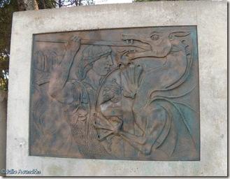 San Jorge y el dragón - Parque de San Jorge - Huesca