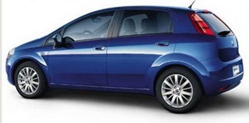 Fiat Grande Punto side view