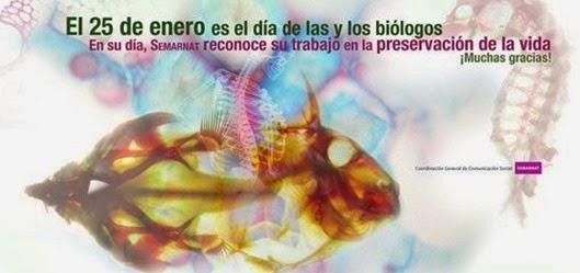 biologo día mexicano