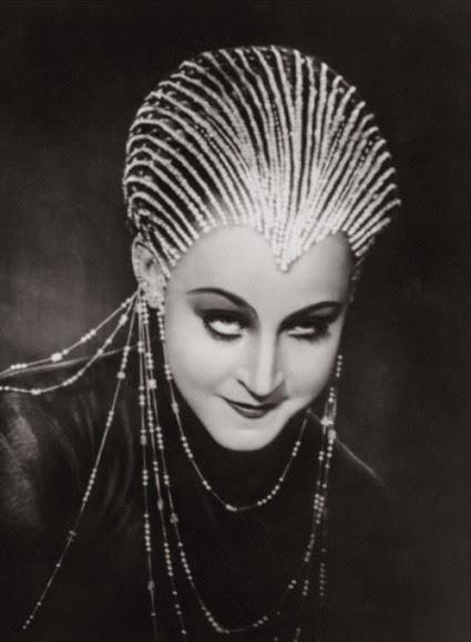 Brigitte Helm in Metropolis 1927
