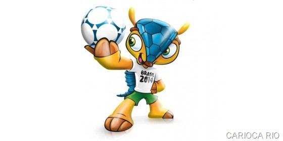 FIFA registra Tatu Bola como mascote da Copa 2014 no Brasil