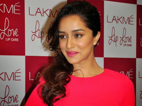 Shraddha Kapoor at Lakme Lip Care Event