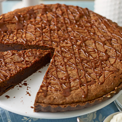 Triple Chocolate Tart With Boozy Whipped Cream Recipes — Dishmaps