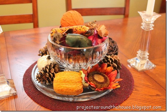 Fall Centerpiece Thanksgiving