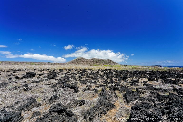 Klippenwanderung bei La Loberia, San Cristobal, Galapagos