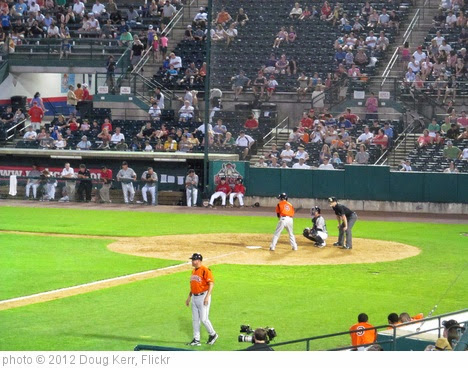 'Bowie Baysox vs. New Britain Rock Cats - New Britain, Connecticut' photo (c) 2012, Doug Kerr - license: https://creativecommons.org/licenses/by-sa/2.0/