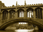 The Bridge of Sighs , designed by Henry Hutchinson, is a bridge crosses the River Cam. Its belong to St John's College of Cambridge University.