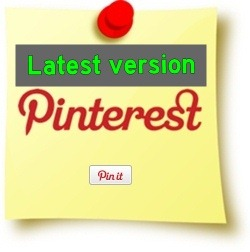 Pinterest Pin It Button Updated