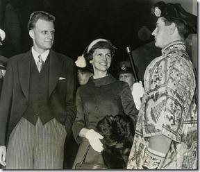Billy and Ruth Graham 1955 UK tour