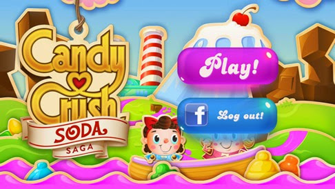 Jugar Candy Crush Soda en Facebook