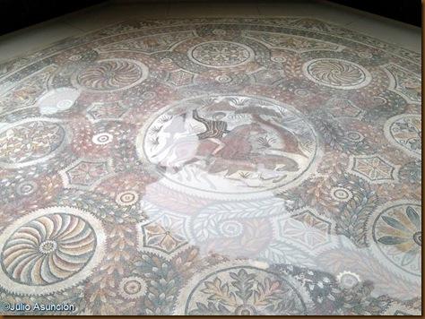 Mosaico de Dulcitius - Villa romana de Ramalete - Tudela - Museo de Navarra