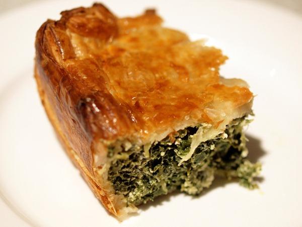silverbeet pie