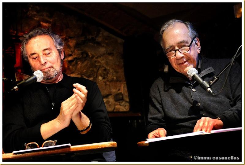 Pere Rovira i Joan Margarit, Barcelona 2013