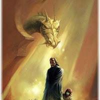 dragon y cria de dragon-hombre