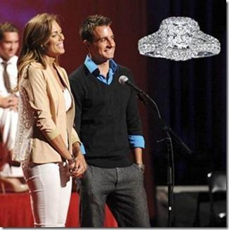 Tony Pieper & Blakeley Jones Engagement Ring