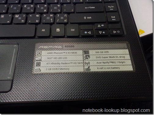 ทดลองแก้ปัญหาความร้อน Acer Aspire 4552G
