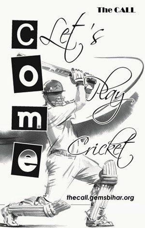 Come let's play cricket_The CALL
