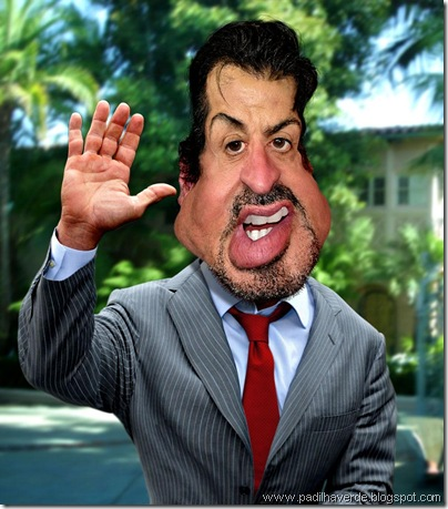 Caricatura Sylvester Stallone1