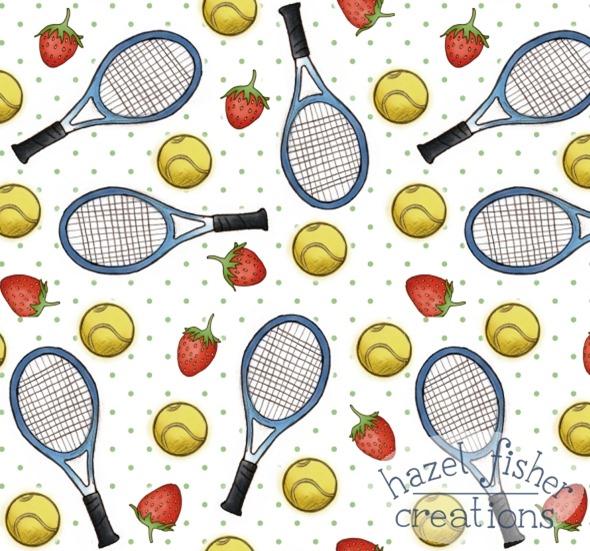 2014 August 6 tennis spoonflower contest design