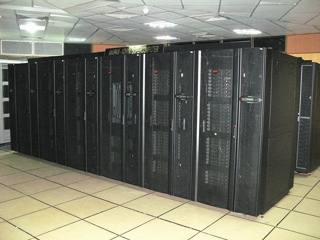 Anupam Adhya - Fastest Supercomputer of the Anupam series built by the Bhabha Atomic Research Centre, at 47 teraFLOPS