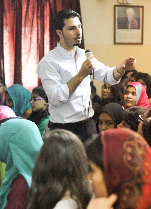 Mohammad Mustafa in Beacon light academy Seminar