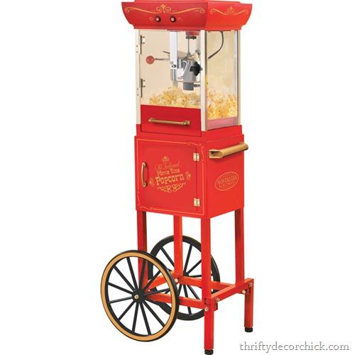 standing popcorn machine