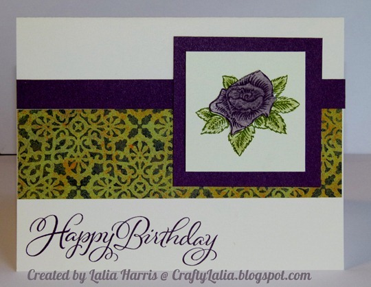 Card-Moonlight with Happy Valentines Day SOTM and Joyful Birthdays Stamp