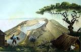 Gunung Gede by Franz Wilhelm Junghuhn (1856)