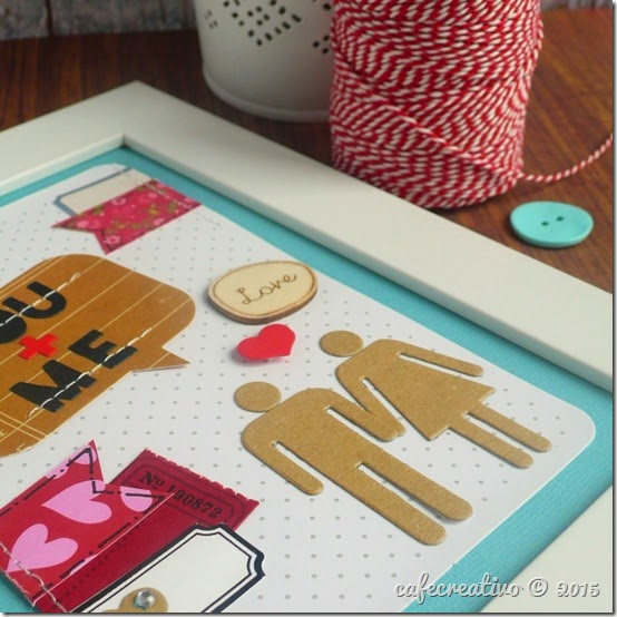 cafecreativo - big shot sizzix - home decor - love