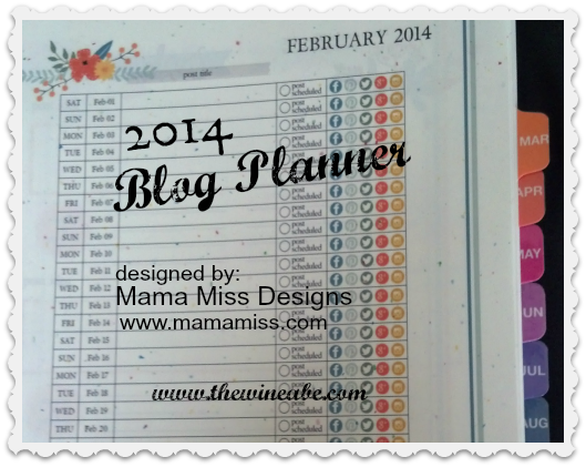 Blog Planner by Mama Miss Designs